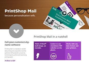 In số nhảy, dữ liệu biến đổi bằng Print Shop Mail