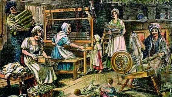 Lược sử ngành in vải hoa